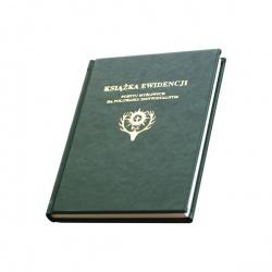 Książka ewidencji pobytu myśliwych na polowaniu indywidualnym - twarda oprawa