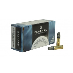 Amunicja Federal .22 Long Rifle 40 grain solid muzzle velocity