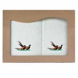 Komplet ręczników bażant