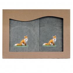 Komplet ręczników lis