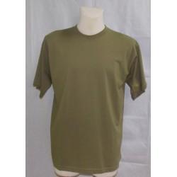 T-shirt oliwkowy