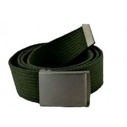 Pasek do spodni parciany zielony