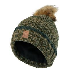 Zimowa czapka damska Lady Gestrickte 6486 Deerhunter
