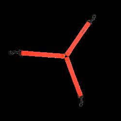 Rozdzielacz do smyczy 2WOLFS DINGO BioThane