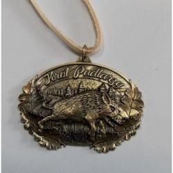 Medal Myśliwski na rzemieniu owalny
